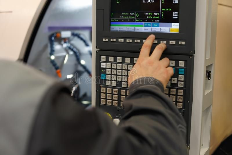 operator Simulator CNC