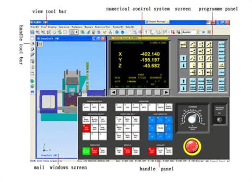 panel simulator cnc