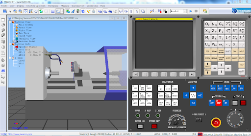 simulator cnc